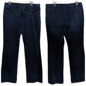 LOFT Curvy Boot Cut Jeans Size 12